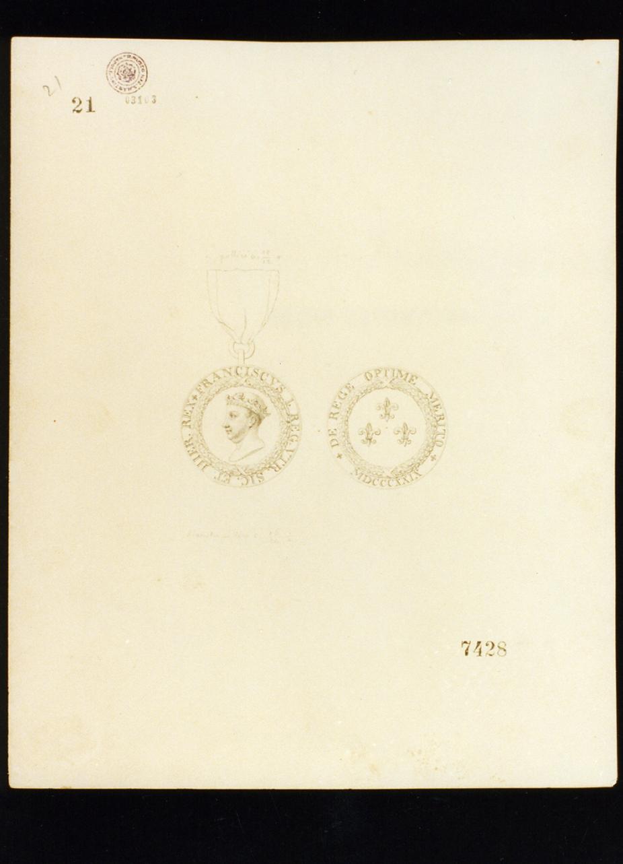 emblema (disegno) di Niccolini Antonio (prima metà sec. XIX)