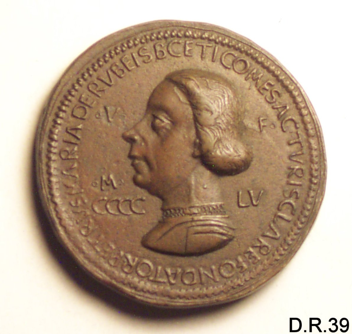 medaglia di Enzola Gianfrancesco (sec. XV)