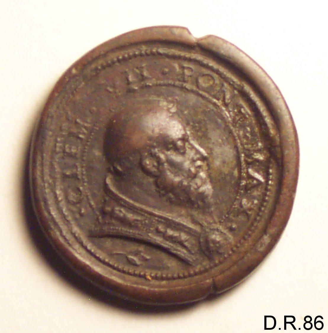 medaglia di Bernardi Giovanni Desiderio (secondo quarto sec. XVI)