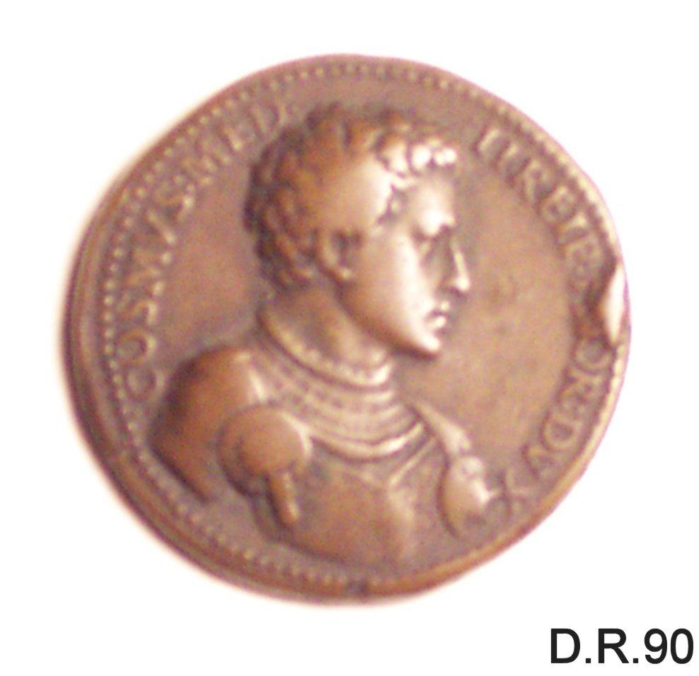 medaglia di Domenico di Polo di Angelo de Vetri (sec. XVI)