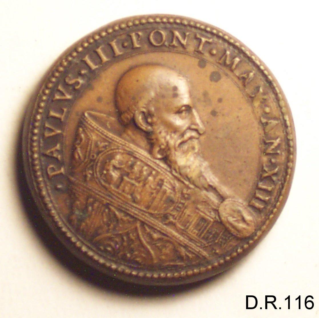 medaglia di Cesati Alessandro detto Grechetto (sec. XVI)