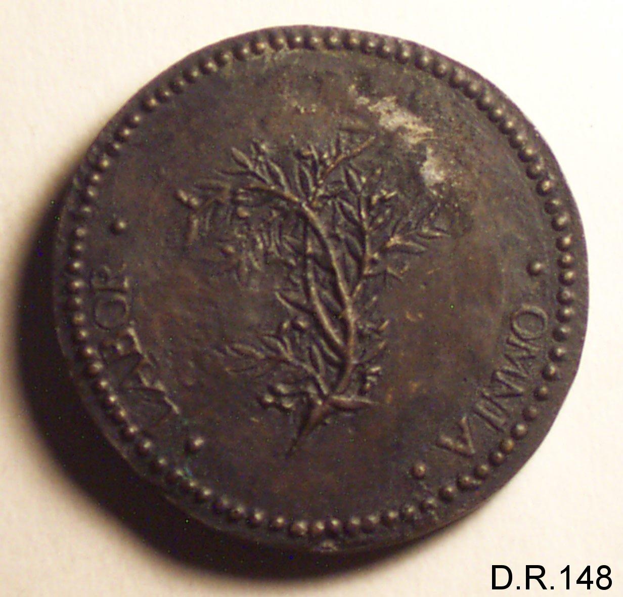 medaglia di Romanelli Gaspare (sec. XVI)