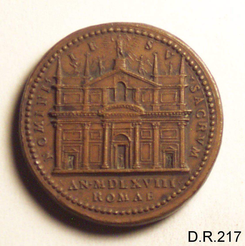 medaglia di Bonzagni Giovan Federigo (sec. XVI)