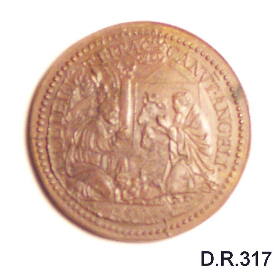 medaglia di De Rossi Giovanni Antonio (terzo quarto sec. XVII)