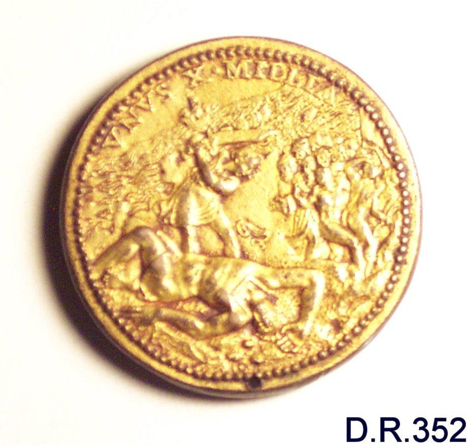 medaglia - bottega italiana (sec. XVI)