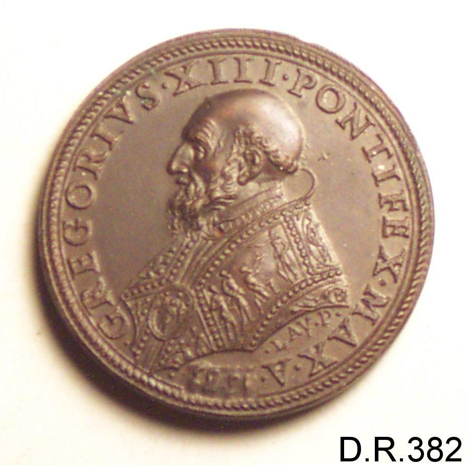 medaglia di Fragni Lorenzo (sec. XVI)