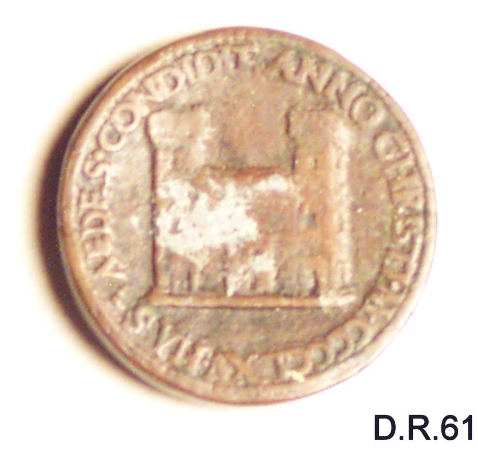 medaglia - bottega italiana (sec. XV)