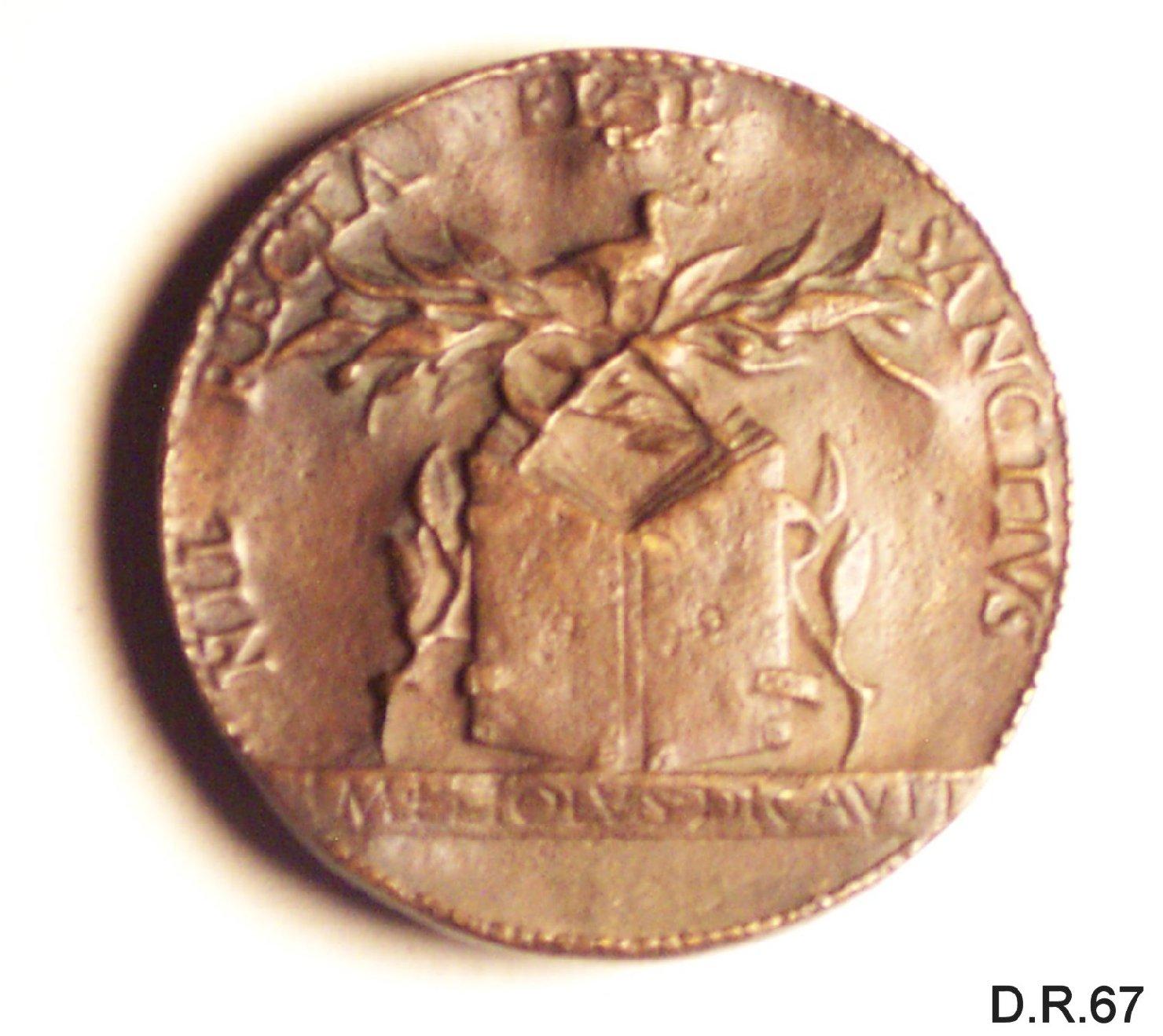 medaglia di Melioli Bartolomeo (sec. XV)
