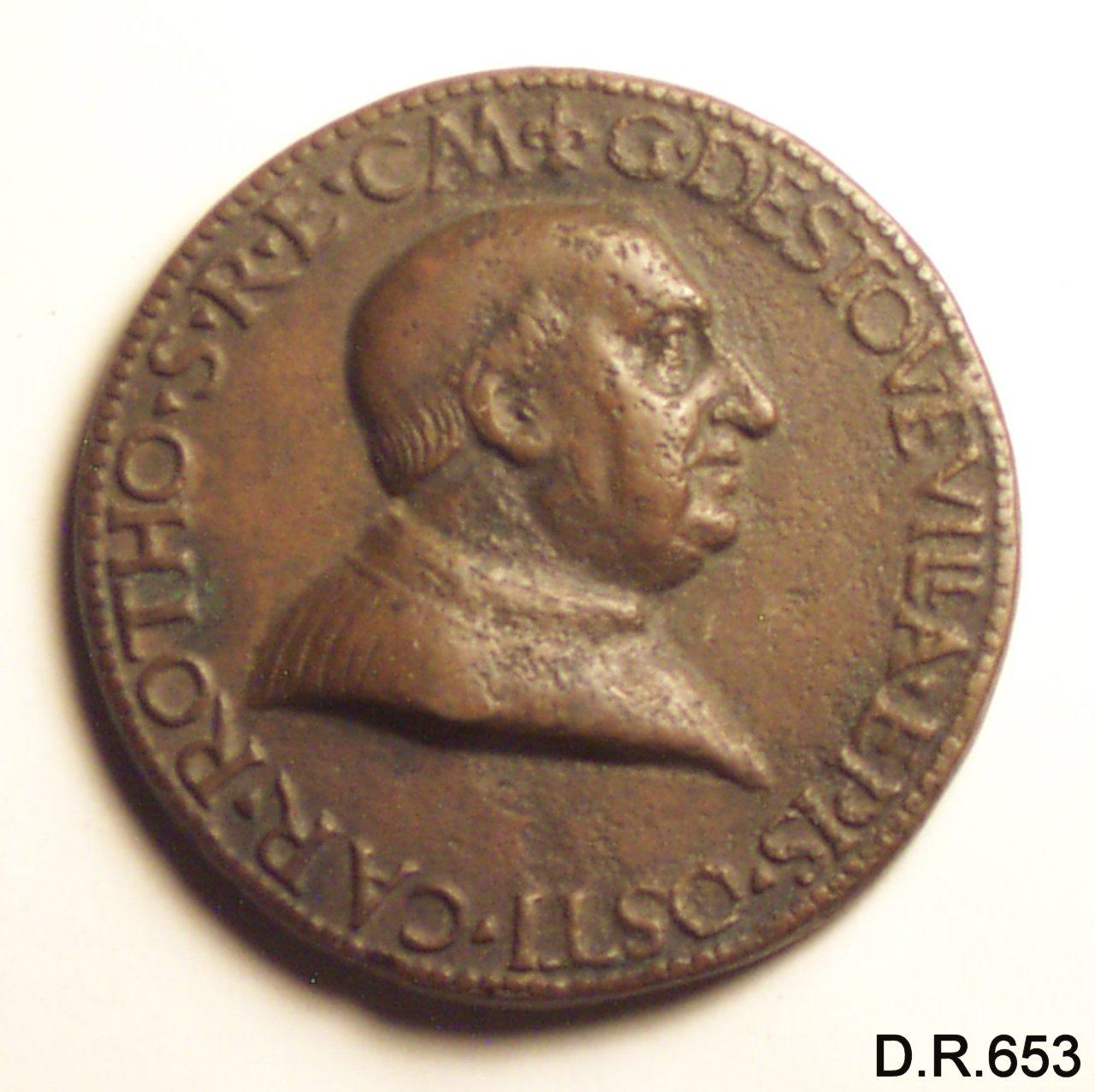 medaglia - ambito Europa centrale (sec. XV)
