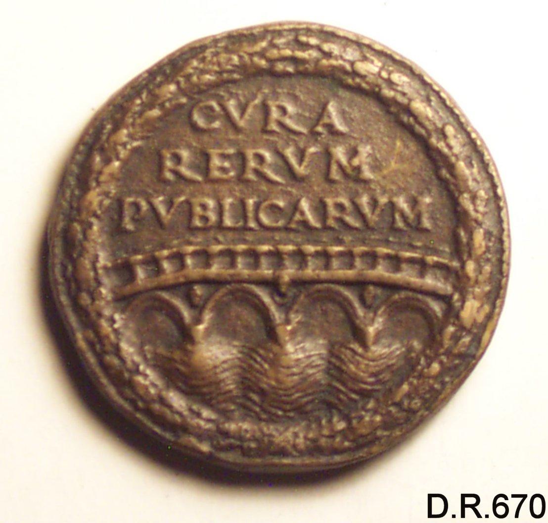 medaglia - ambito italiano (sec. XV)