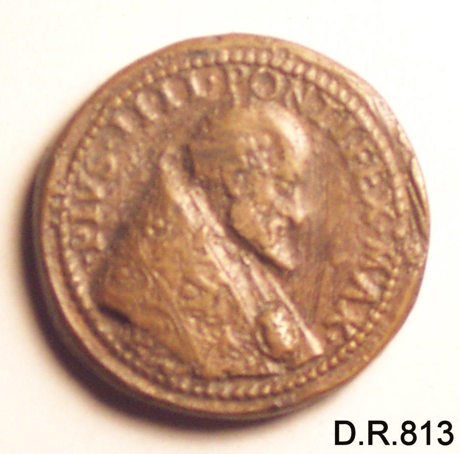 medaglia - ambito italiano (seconda metà sec. XVI)