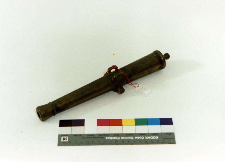 modellino di cannone - bottega napoletana (sec. XIX)