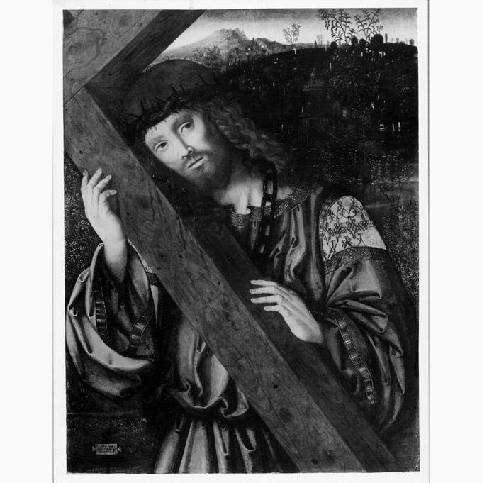 Cristo portacroce (dipinto) di Zaganelli Francesco (sec. XVI)