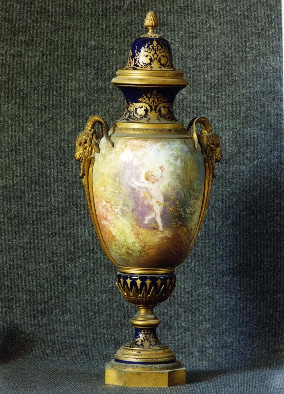 scena mitologica (vaso) - manifattura tedesca (sec. XIX)