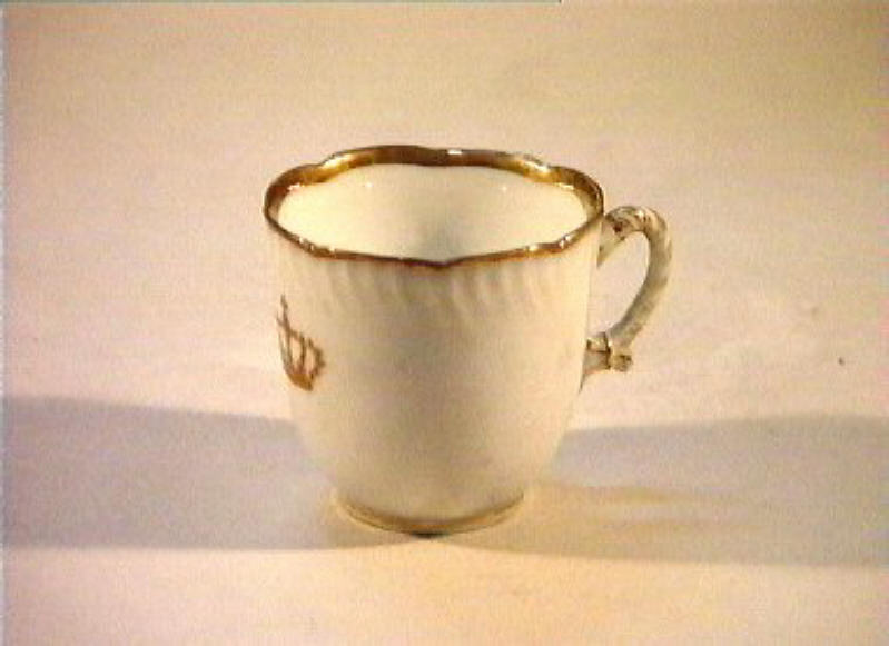corona Savoia (tazzina) - manifattura Richard-Ginori (sec. XIX)