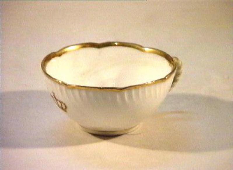 corona Savoia (tazza) - manifattura Richard-Ginori (sec. XIX)