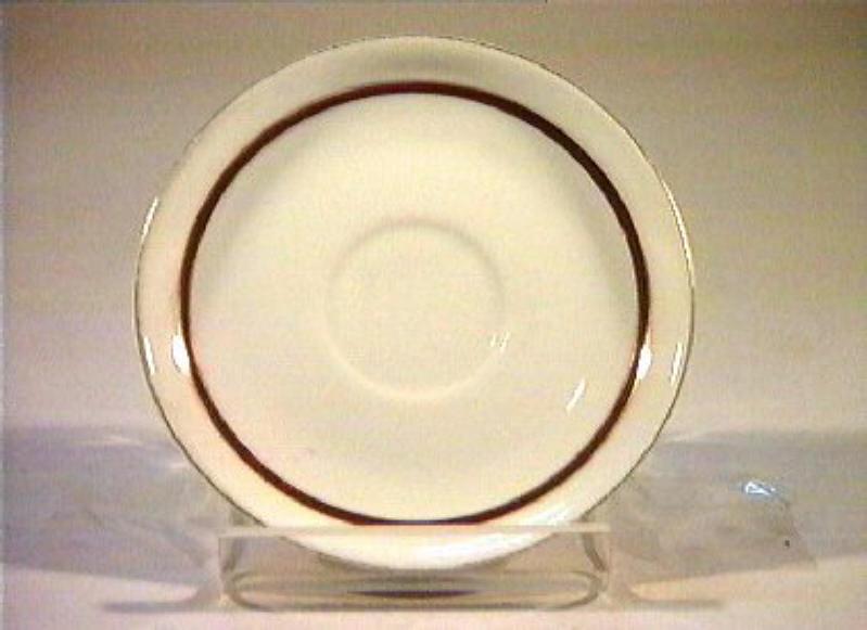 piattino - manifattura Richard-Ginori (sec. XIX)