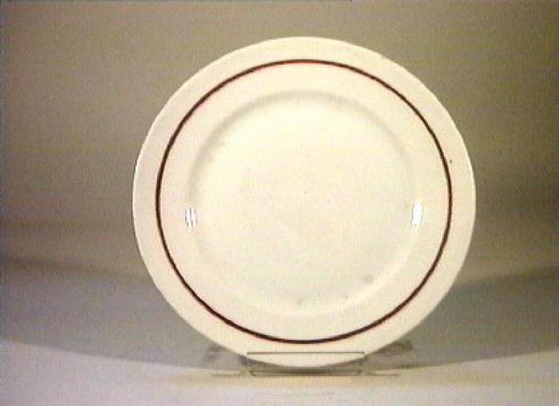 piatto - manifattura Richard-Ginori (sec. XIX)
