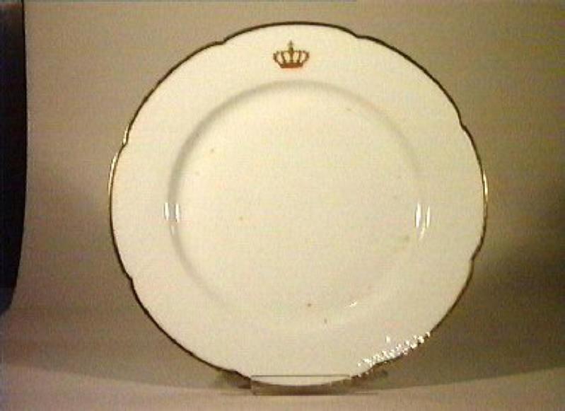 corona Savoia (piatto da portata) - manifattura Richard-Ginori (sec. XIX)