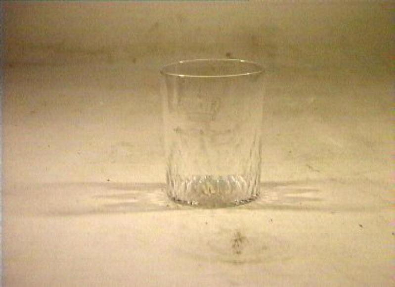 bicchiere - bottega italiana (sec. XIX)