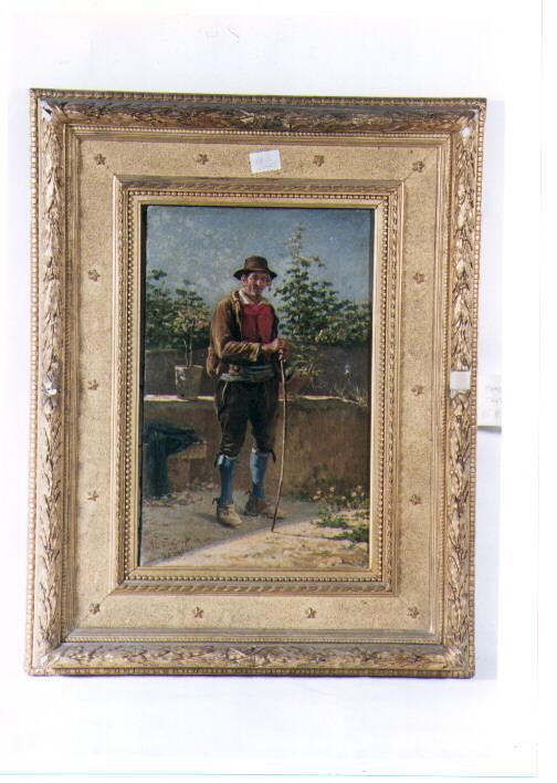 figura maschile (dipinto) di De Gregorio Marco (sec. XIX)