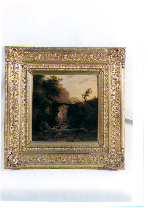 paesaggio (dipinto) di Koekkoek Barend Cornelius (sec. XIX)