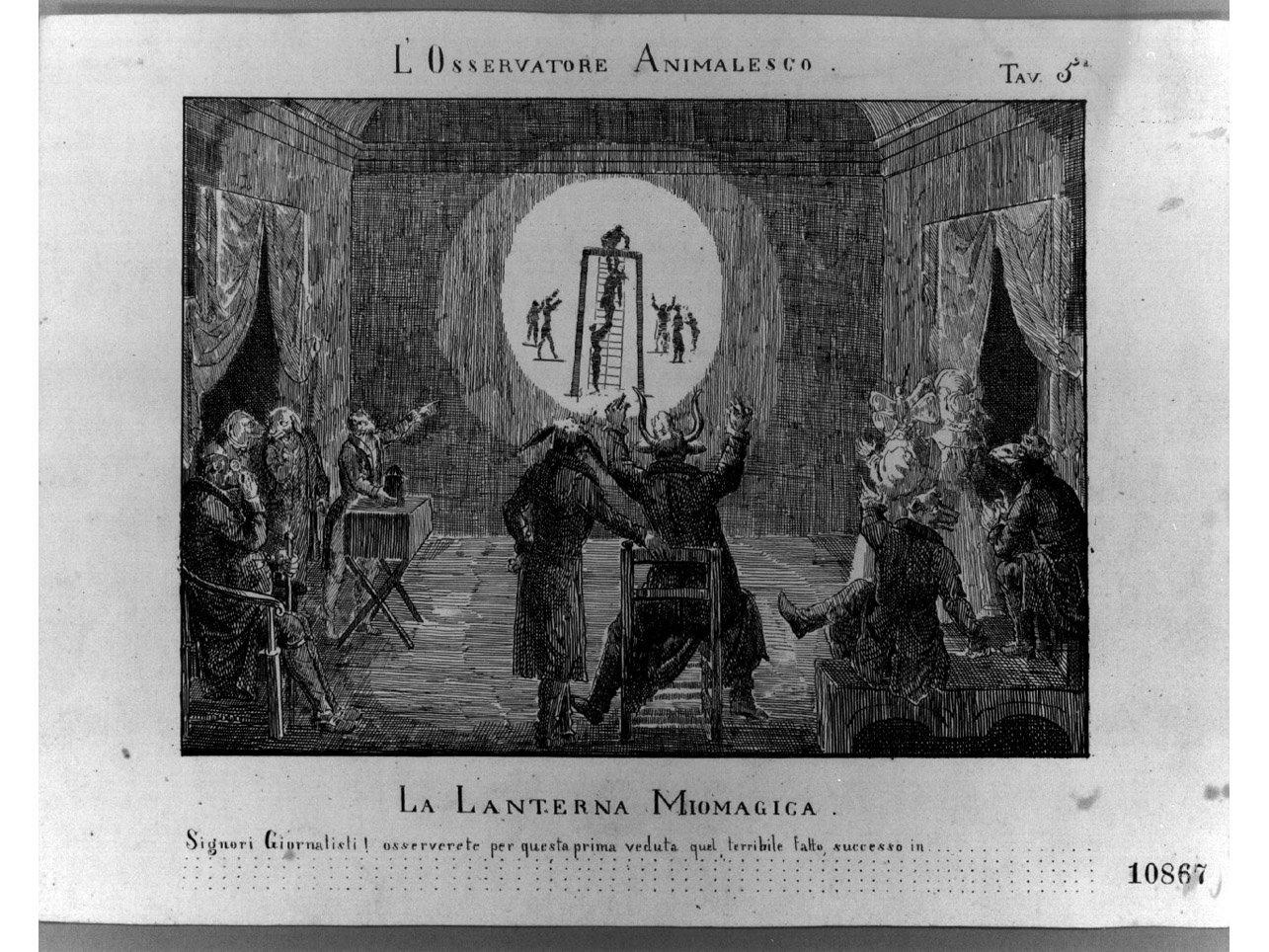 scena satirica (stampa) - ambito italiano (prima metà sec. XIX)