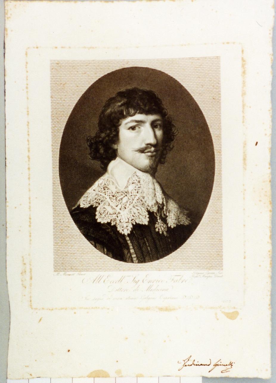 ritratto d'uomo (stampa) di Morghen Raffaello, Cipriani Galgano (secc. XVIII/ XIX)