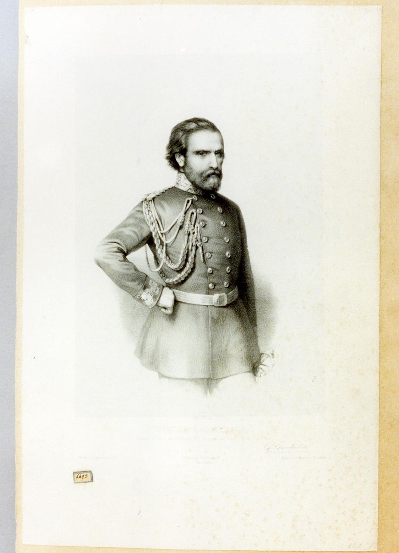 ritratto di Garibaldi (stampa) - ambito napoletano (sec. XIX)