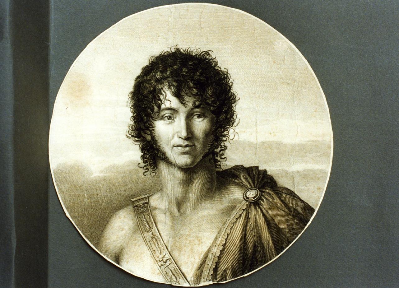 ritratto di Gioacchino Murat (stampa) di Ricciani Antonio (primo quarto sec. XIX)
