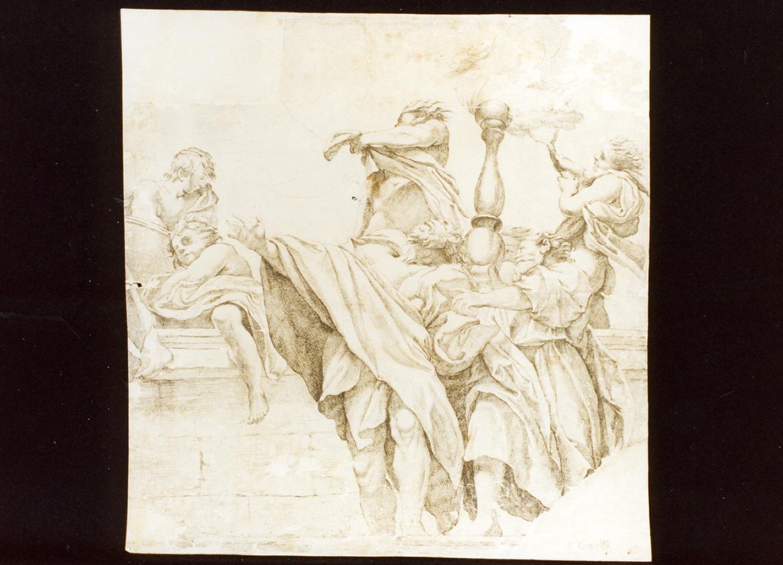 particolare della cupola di San Giovanni a Parma (stampa) di Maratta Carlo (attribuito) (seconda metà sec. XVII)