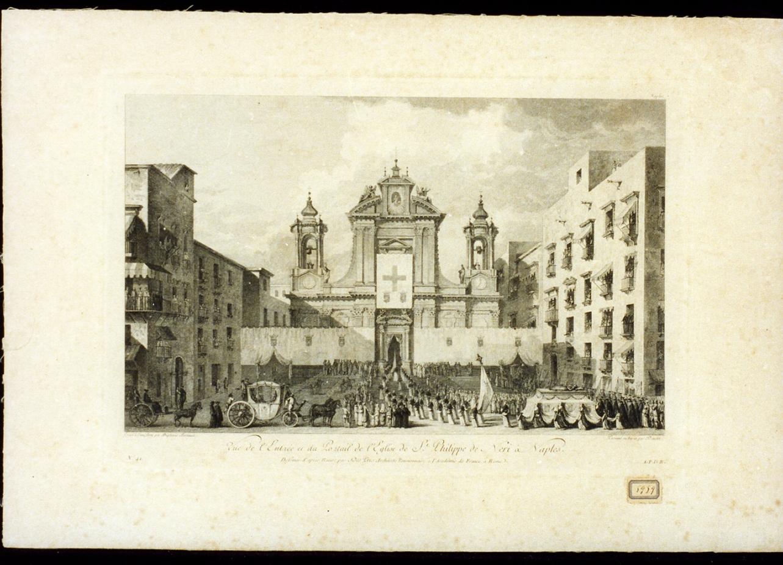 veduta di città (stampa) di Duplessi Bertaux Jean, Daudet Robert, Desprez Louis Jean (secc. XVIII/ XIX)