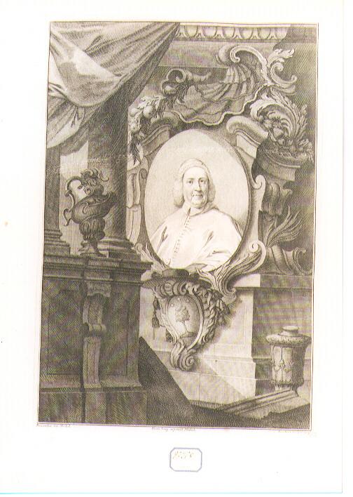 Ritratto di Cardinale (stampa) di Zucchi Andrea (sec. XVII)