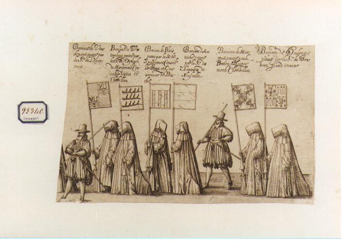 personaggi e dignitari del Regno di Francia (stampa) - ambito francese (sec. XVII)