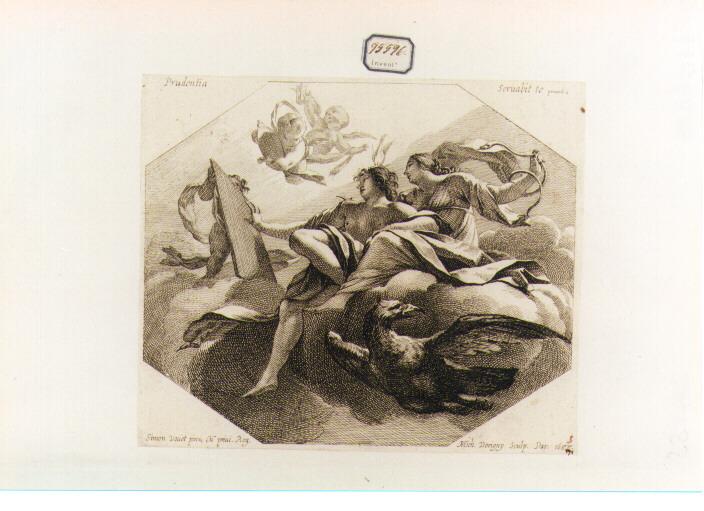 Prudenza (stampa) di Dorigny Michel, Vouet Simon (sec. XVII)