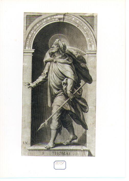 San Tommaso (stampa) - ambito lombardo (seconda metà sec. XVII)