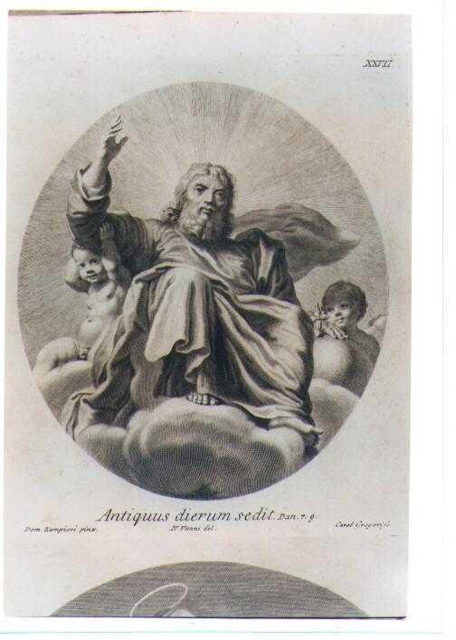 DIO PADRE (stampa) di Zampieri Domenico detto Domenichino, Gregori Carlo, Vanni Niccolò (sec. XVIII)