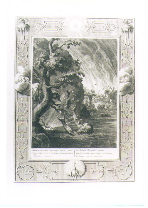 SUPPLIZIO DI TANTALO (stampa) di Picart Bernard (CERCHIA) (sec. XVIII)