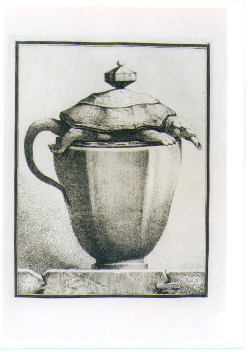 VASO CON TARTARUGA (stampa) di Petitot Ennemond Alexandre, Bossi Benigno (sec. XVIII)