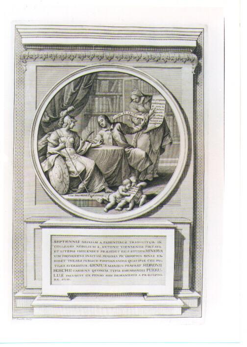 SCENA DELLA VITA DEL CARDINALE ANGELO MARIA QUERINI (stampa) di Zucchi Francesco (sec. XVIII)