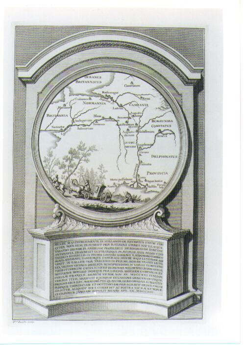 CARTA GEOGRAFICA (stampa) di Zucchi Francesco (sec. XVIII)