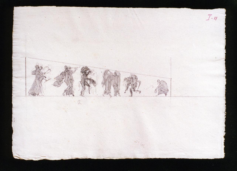 studio di elementi decorativi architettonici (disegno) di Vetri Paolo (fine/inizio secc. XIX/ XX)