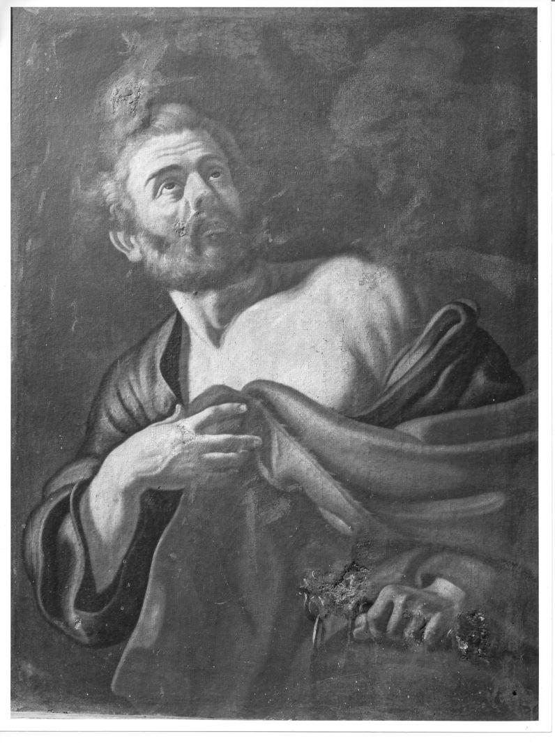 San Pietro Apostolo (dipinto) di Solimena Francesco detto Abate Ciccio (cerchia) (sec. XVIII, prima metà)