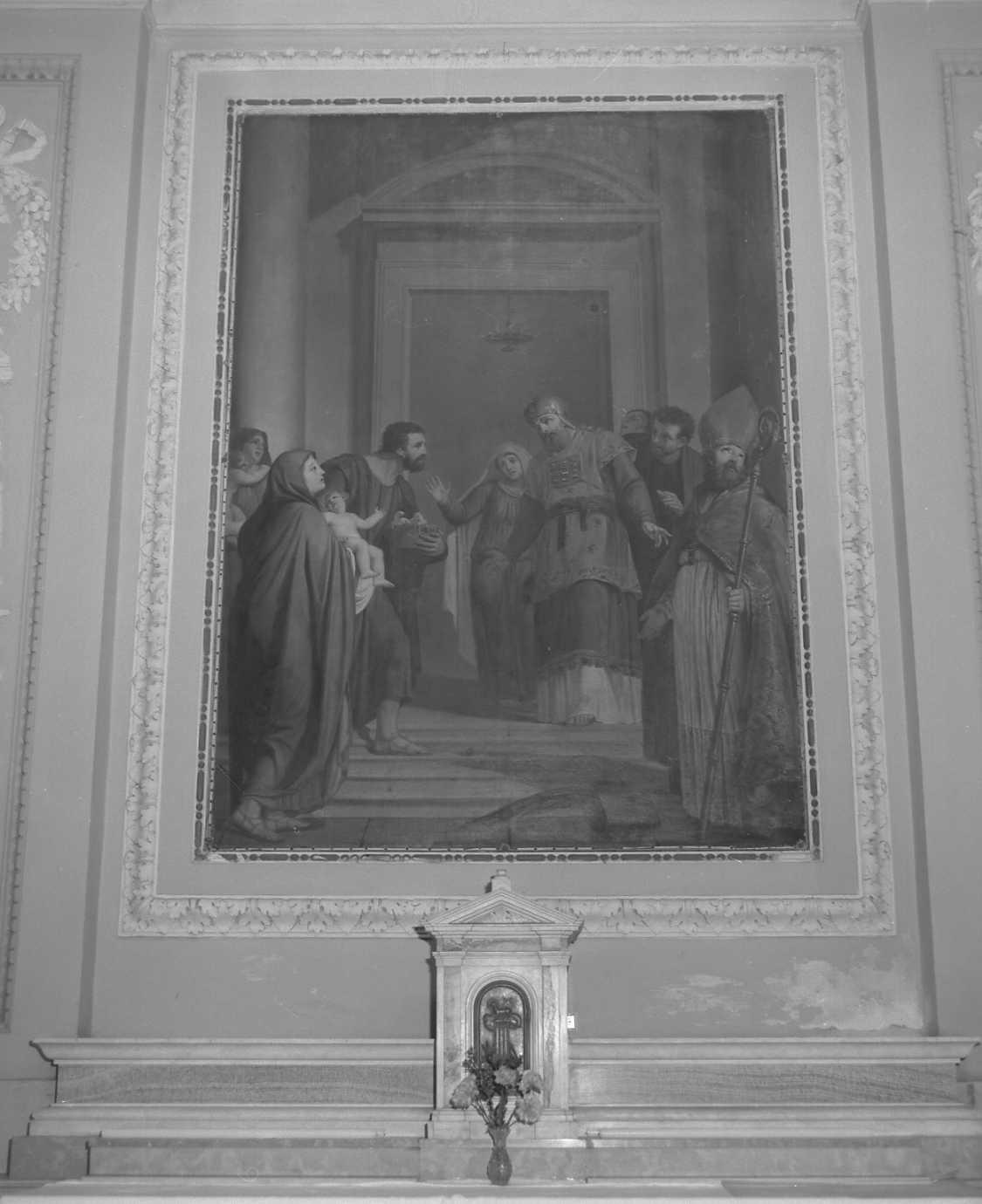 decorazione plastica di Morgante Pietro (fine sec. XVIII)