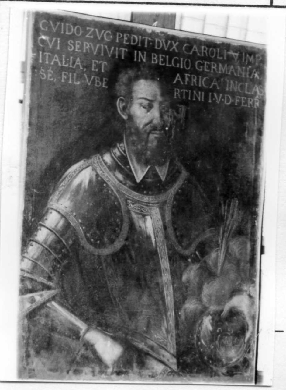 ritratto di Guido Zuccardi (dipinto) - ambito reggiano (prima metà sec. XVII)
