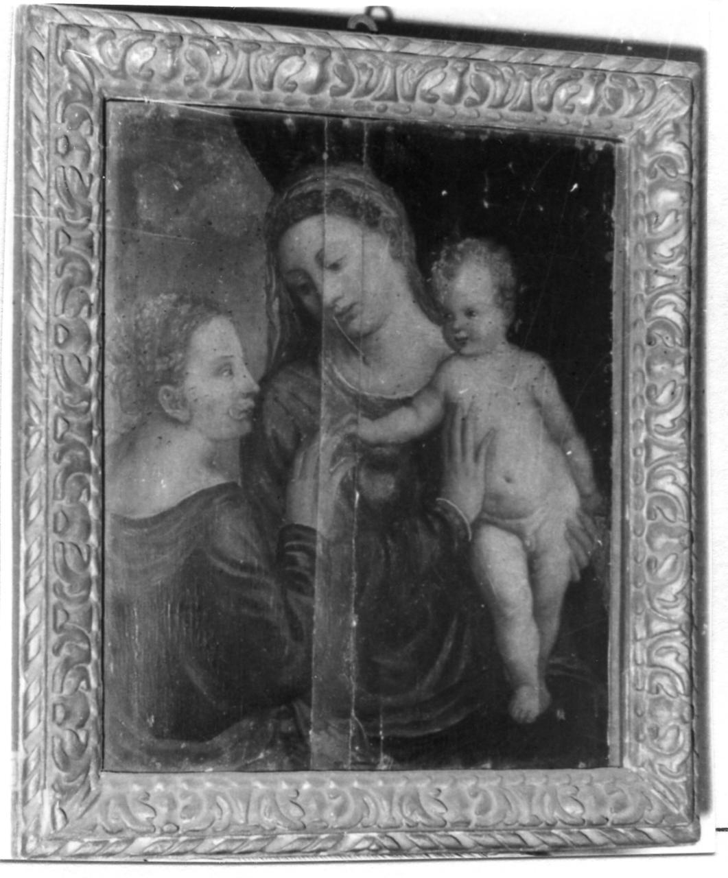 matrimonio mistico di Santa Caterina d'Alessandria (dipinto) - ambito veneto (metà sec. XVI)