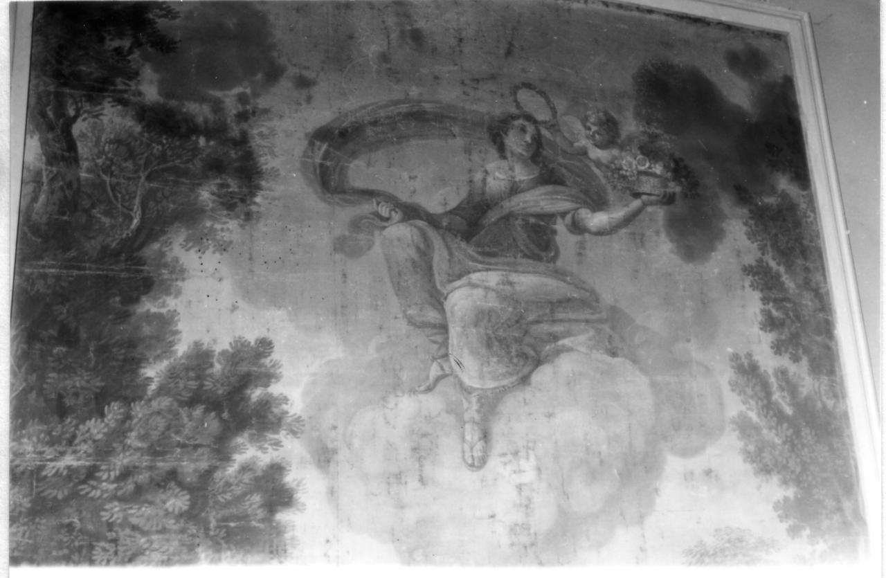 allegoria della primavera (dipinto) - ambito emiliano (inizio sec. XIX)
