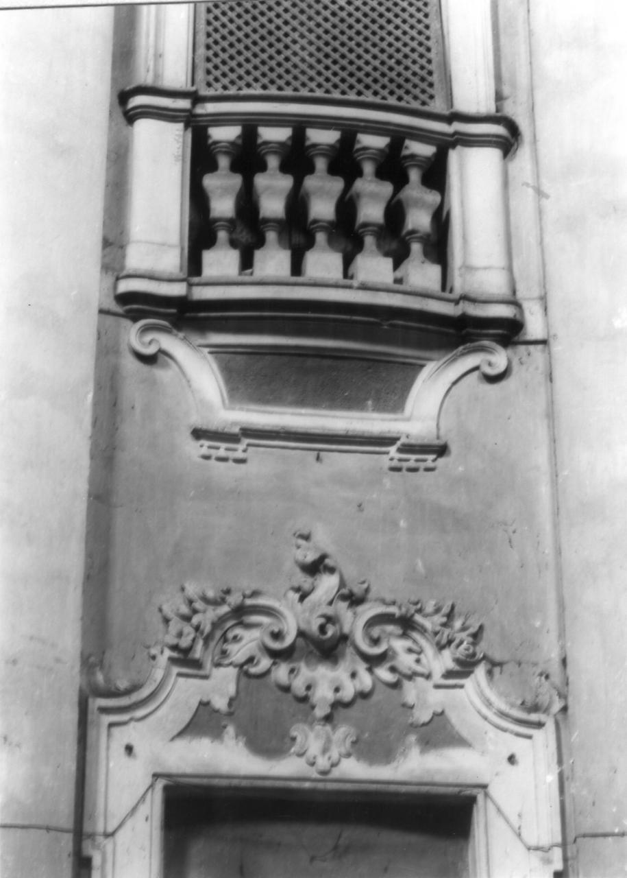 decorazione plastica - bottega reggiana (seconda metà sec. XVIII)