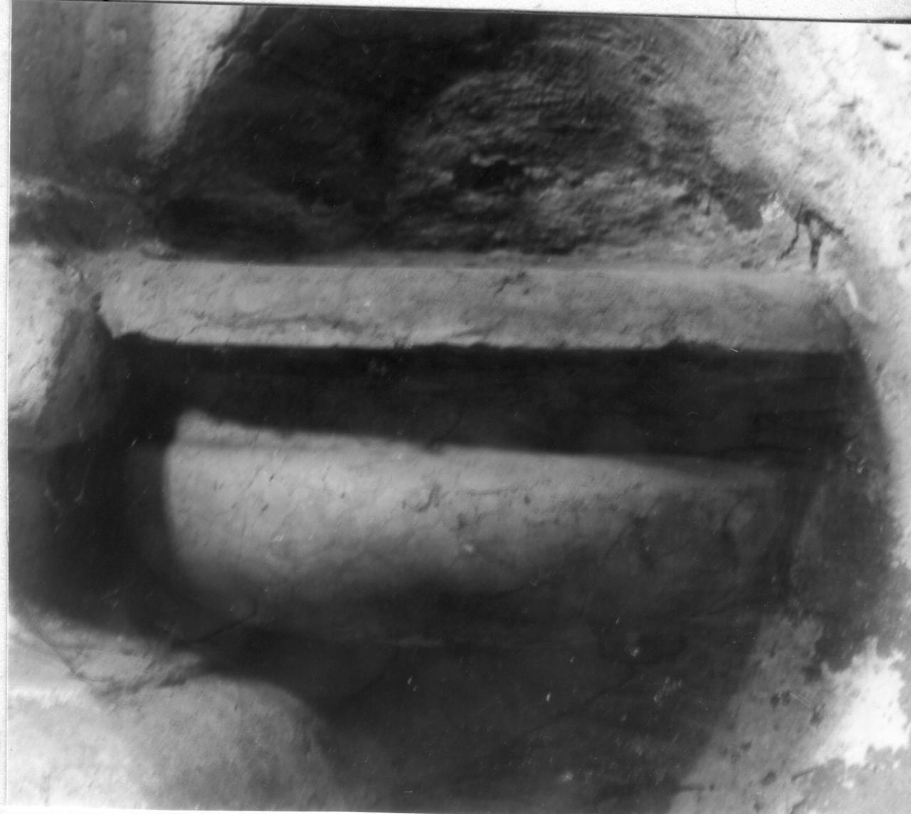 acquasantiera da parete, serie - bottega reggiana (inizio sec. XVIII)