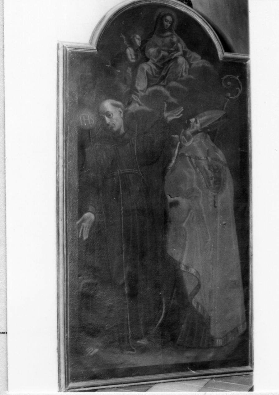 Madonna con Bambino e Santi (dipinto) - ambito emiliano (seconda metà sec. XVII)
